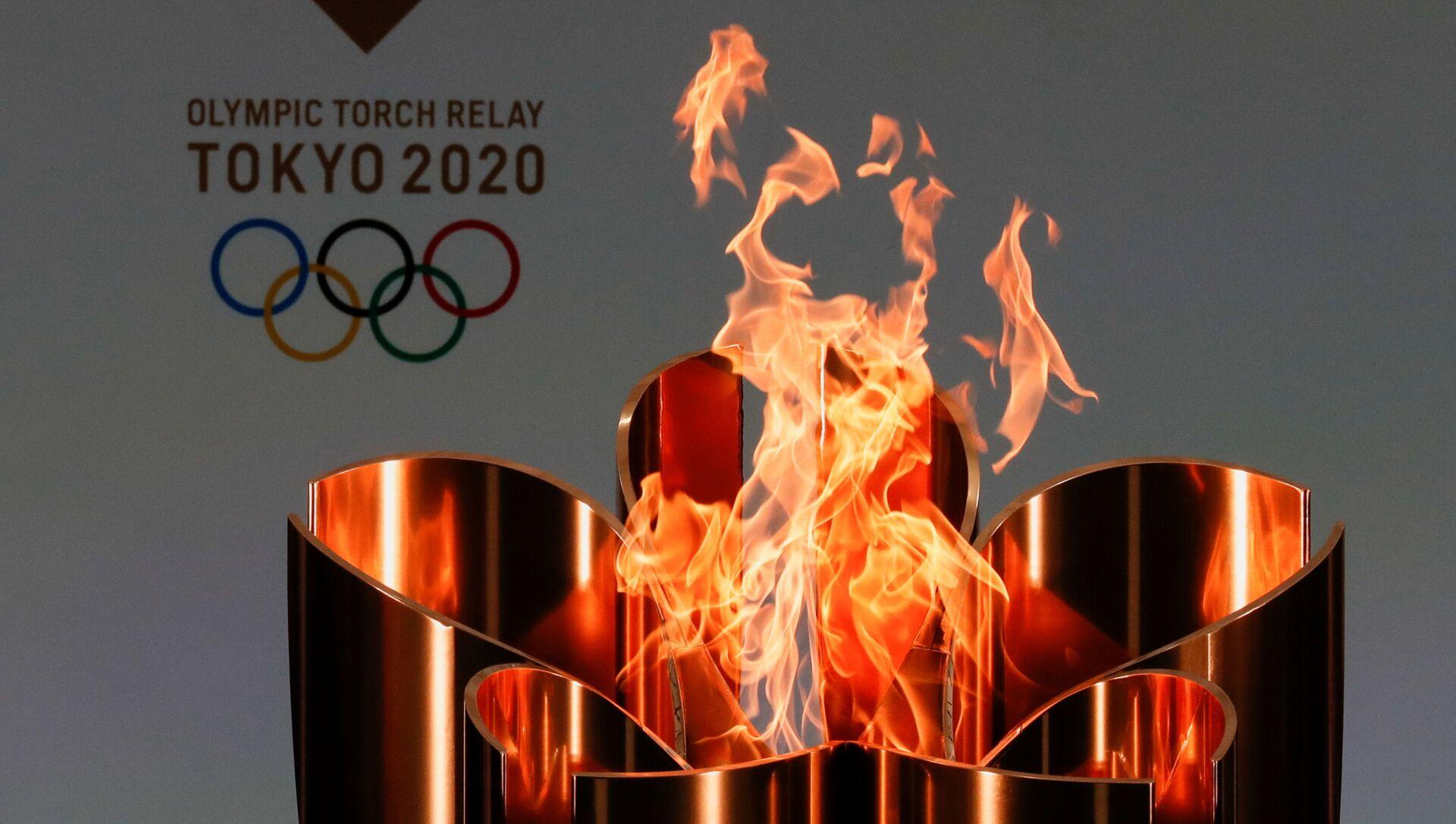Ngọn lửa olympic của Thế vận hội Olympic ở Tokyo-2020. - Sputnik Việt Nam, 1920, 05.07.2021