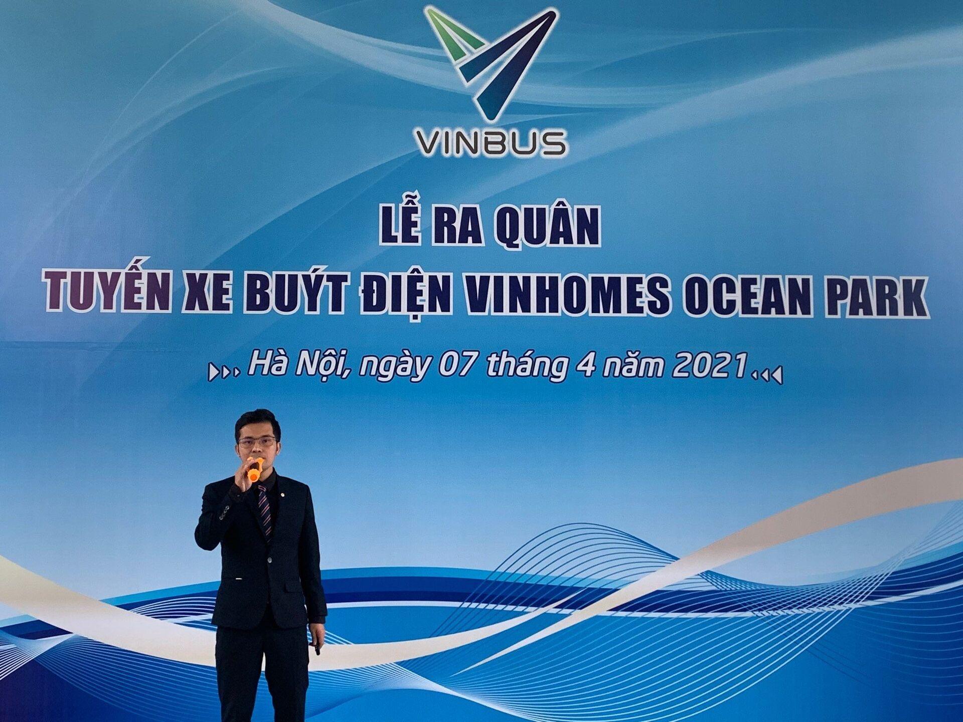 Vinbus lăn bánh - khởi đầu cho cách mạng xe bus điện tại Việt Nam - Sputnik Việt Nam, 1920, 08.04.2021