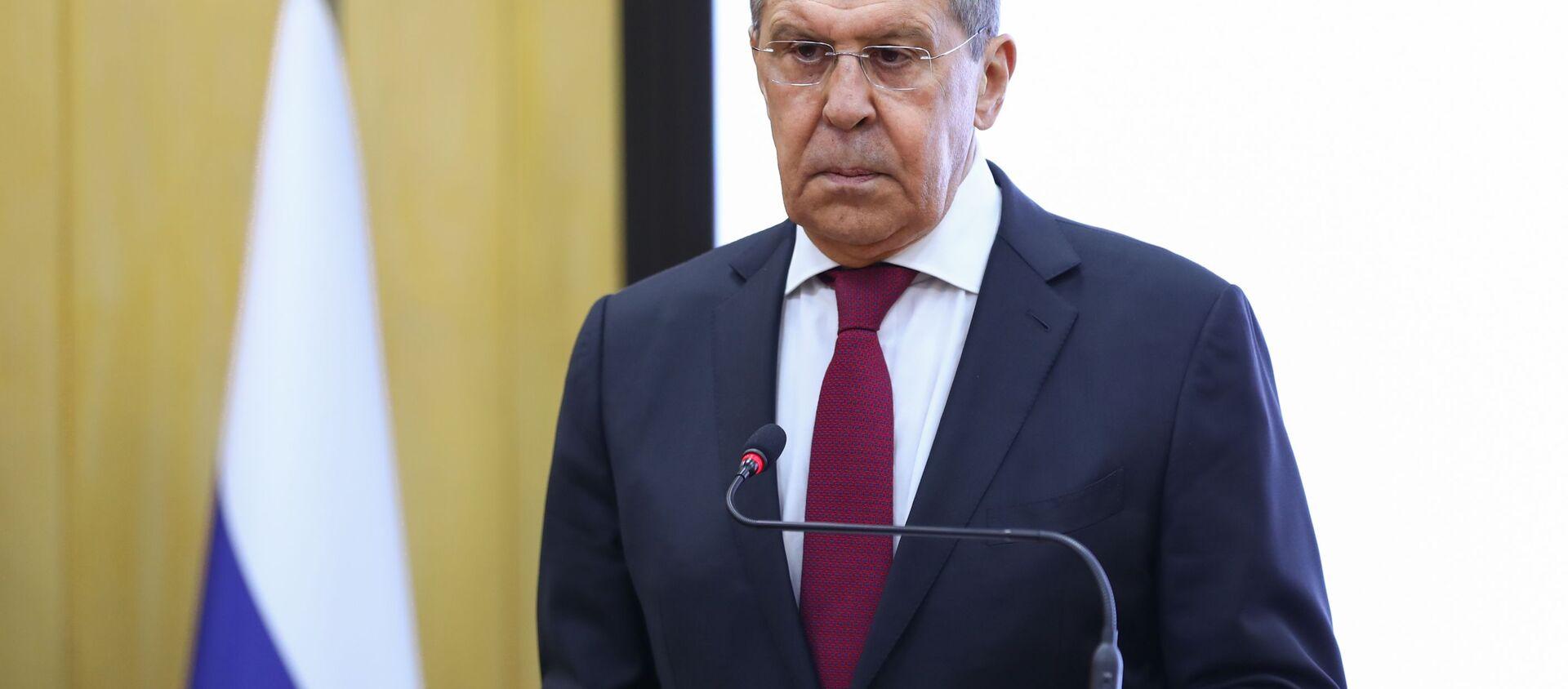 Bộ trưởng Ngoại giao Nga Sergei Lavrov. - Sputnik Việt Nam, 1920, 23.07.2021