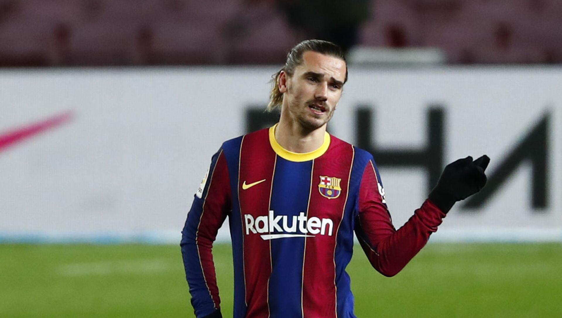Tiền đạo CLB bóng đá Barcelona'' Tây Ban Nha Antoine Griezmann. - Sputnik Việt Nam, 1920, 08.04.2021