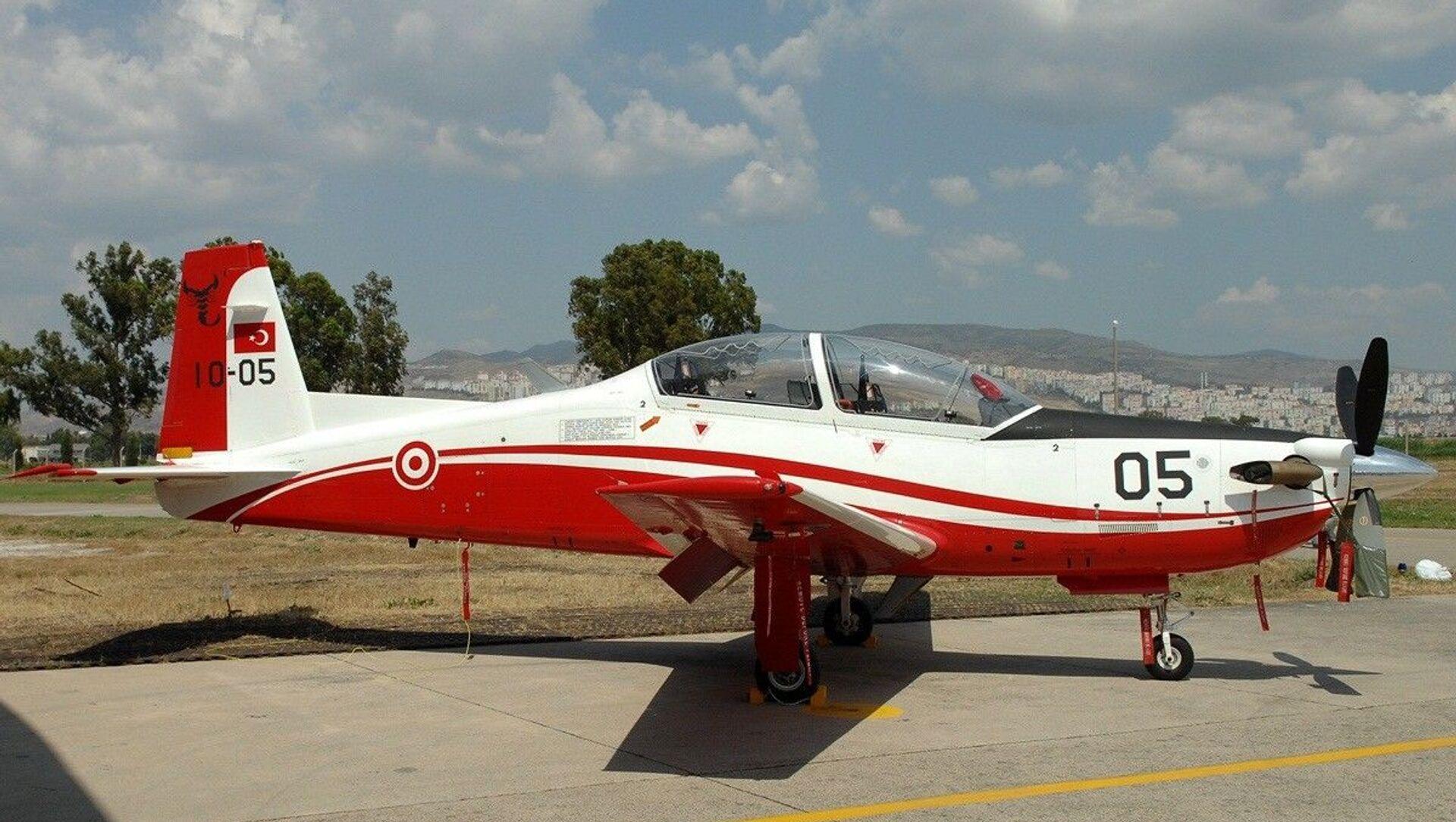 Máy bay huấn luyện quân sự KT-1T của Không quân Thổ Nhĩ Kỳ - Sputnik Việt Nam, 1920, 09.04.2021