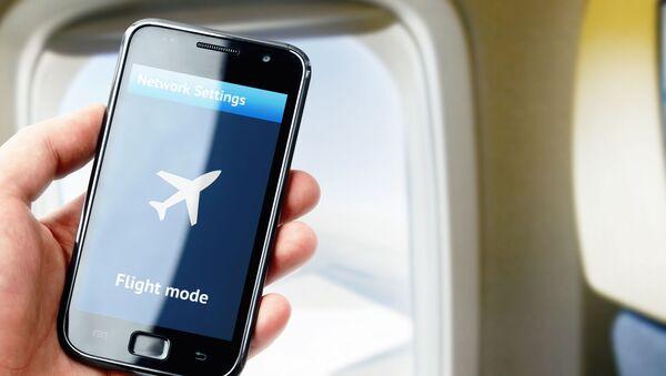 Сhế độ máy bay trên màn hình điện thoại thông minh - Sputnik Việt Nam