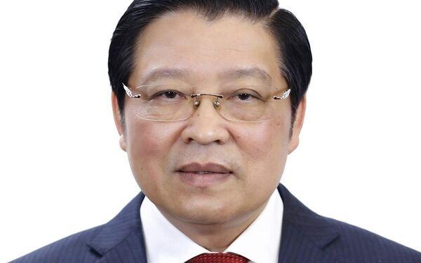 Đồng chí Phan Đình Trạc, Ủy viên Bộ Chính trị, Trưởng Ban Nội chính Trung ương. - Sputnik Việt Nam