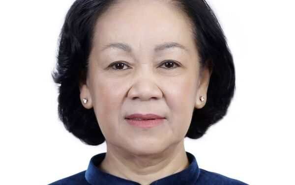 Đồng chí Trương Thị Mai, Ủy viên Bộ Chính trị, Trưởng Ban Tổ chức Trung ương. - Sputnik Việt Nam