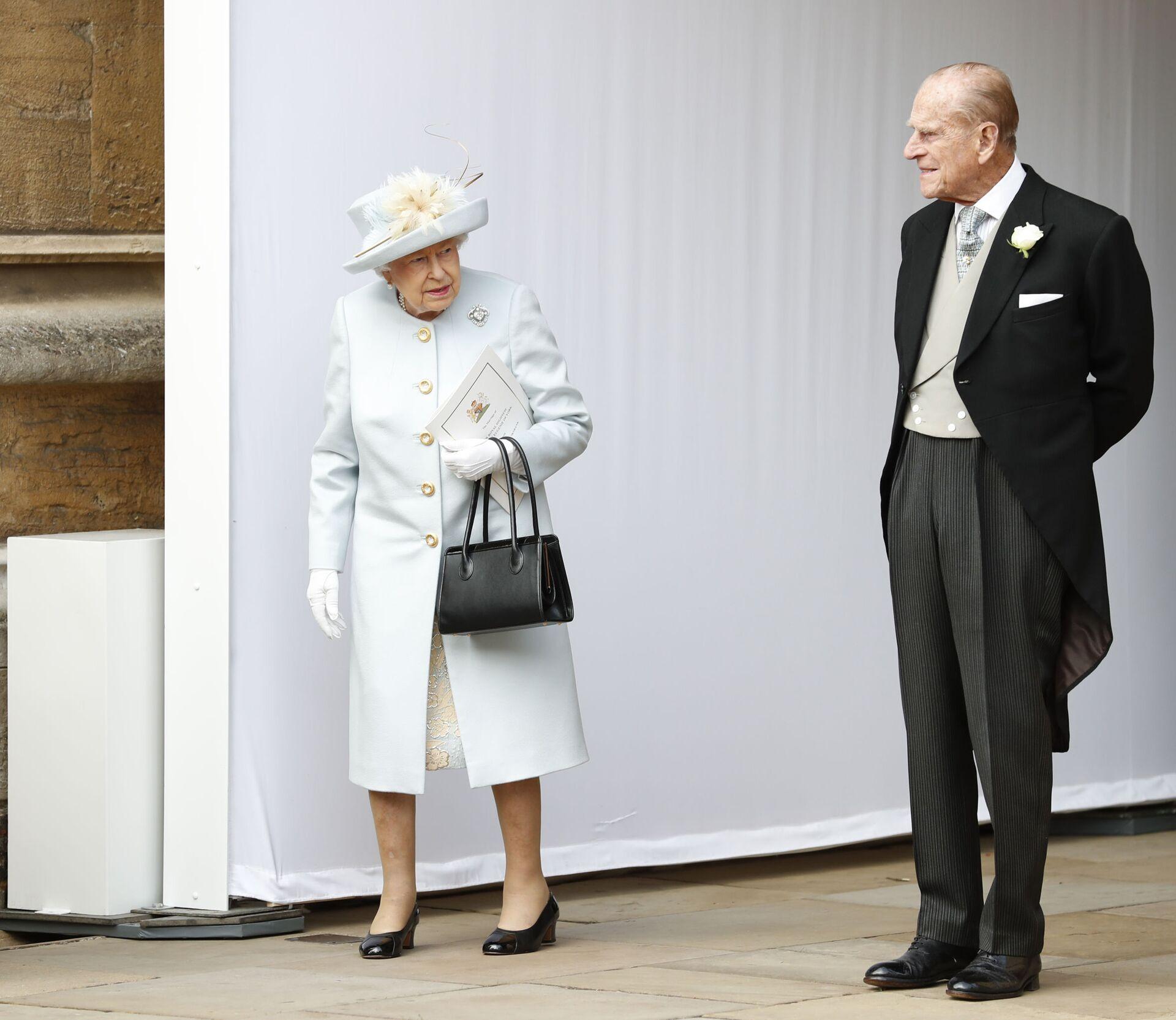 Hoàng thân Philip, chồng của Nữ hoàng Anh Elizabeth II qua đời - Sputnik Việt Nam, 1920, 09.04.2021