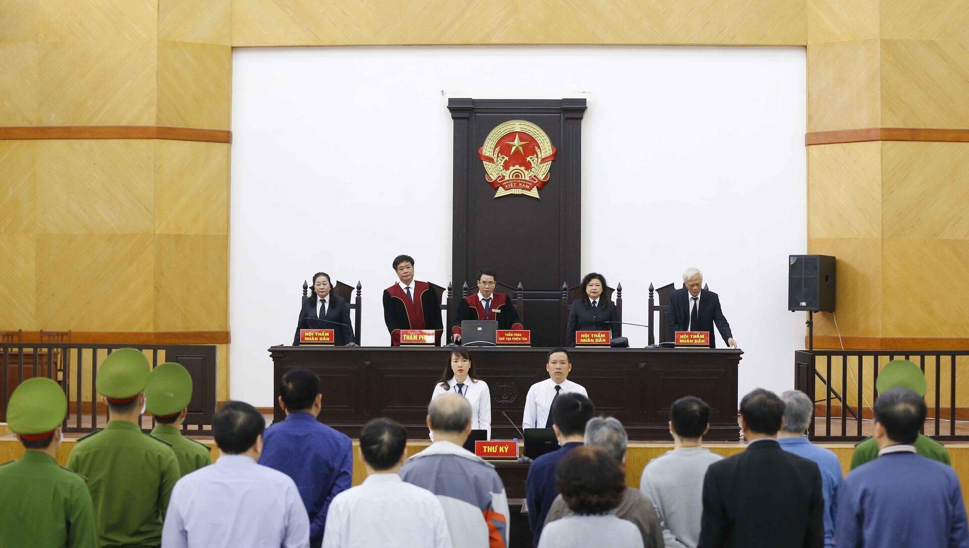 Hội đồng xét xử tuyên án. - Sputnik Việt Nam, 1920, 12.04.2021