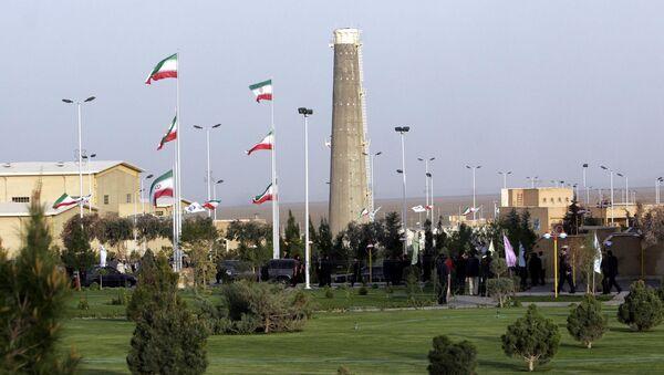 Khung cảnh cơ sở hạt nhân ở Natanz của Iran. - Sputnik Việt Nam