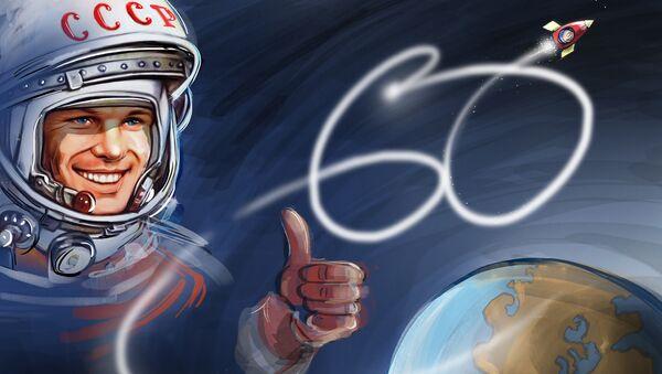 Người đầu tiên bay vào vũ trụ - Sputnik Việt Nam