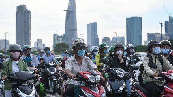 Giao thông Thành phố Hồ Chí Minh. - Sputnik Việt Nam
