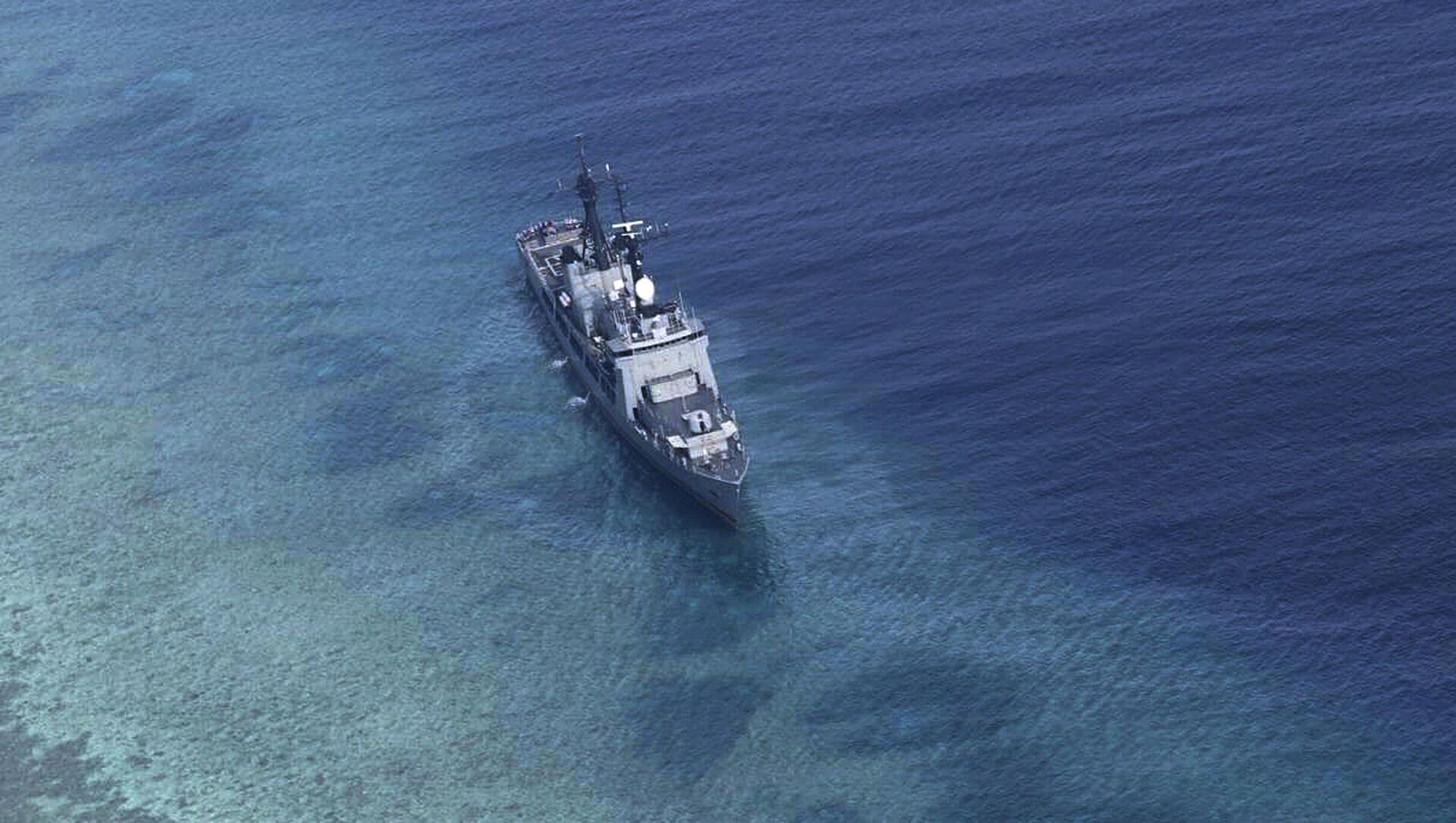 Tàu Hải quân Philippines BRP Gregorio del Pilar trên Biển Đông. - Sputnik Việt Nam, 1920, 05.05.2021