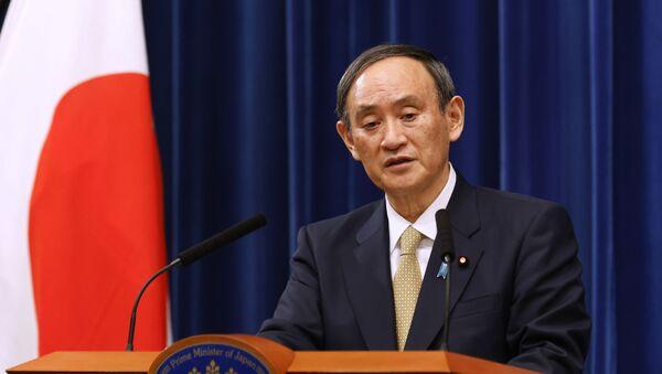 Thủ tướng Nhật Bản Yoshihide Suga. - Sputnik Việt Nam