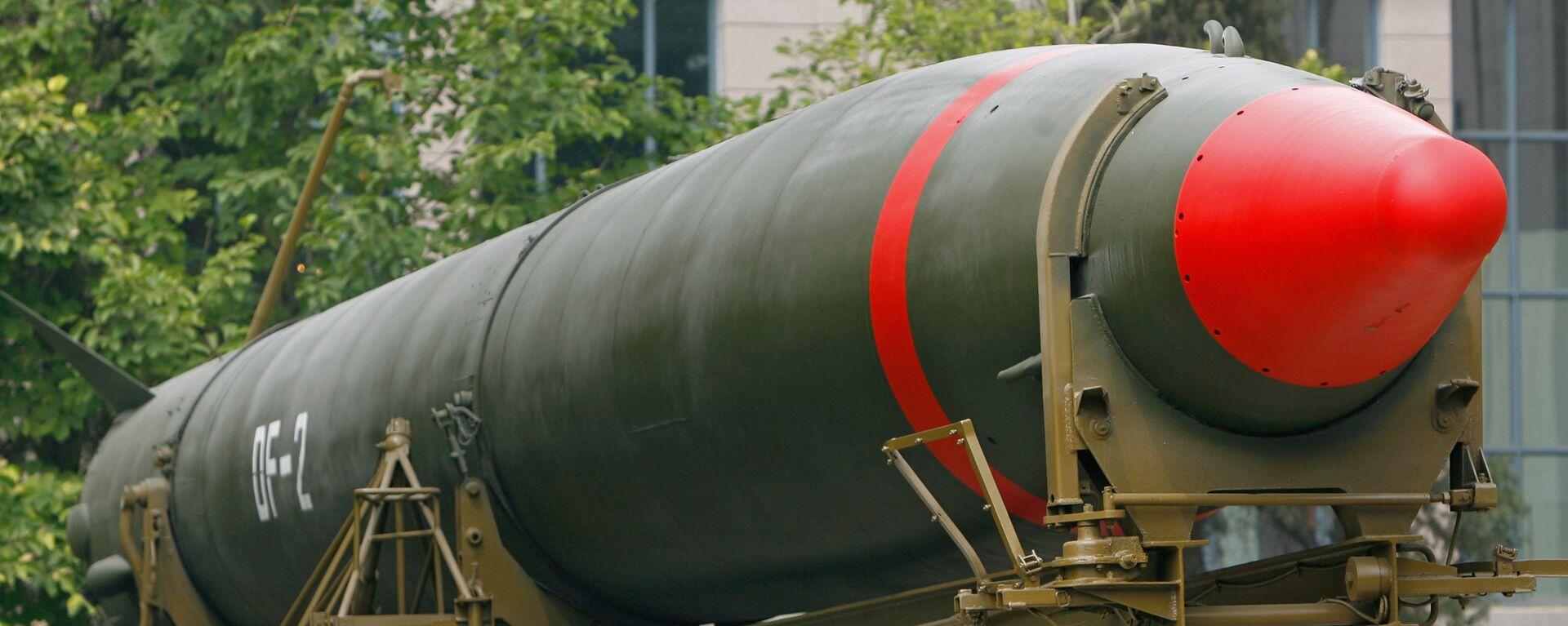 Tên lửa hạt nhân của Trung Quốc tại Bảo tàng Bắc Kinh - Sputnik Việt Nam, 1920, 25.09.2021