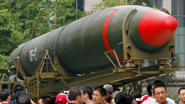Tên lửa hạt nhân của Trung Quốc tại Bảo tàng Bắc Kinh - Sputnik Việt Nam