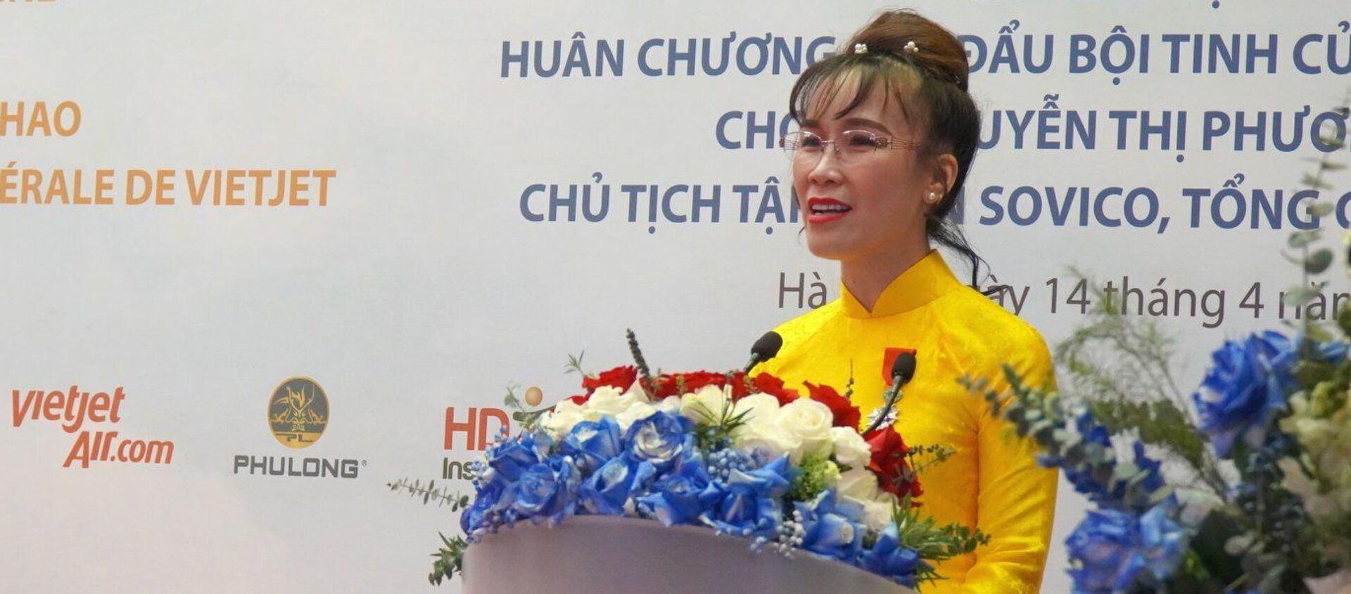 Bà chủ Vietjet-tỷ phú Nguyễn Thị Phương Thảo. - Sputnik Việt Nam, 1920, 15.04.2021
