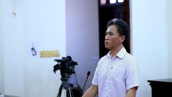 Bị cáo Quách Duy bị tuyên phạt 4 năm 6 tháng tù. - Sputnik Việt Nam
