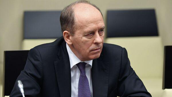 Giám đốc Cơ quan An ninh Liên bang của Liên bang Nga Alexander Bortnikov - Sputnik Việt Nam