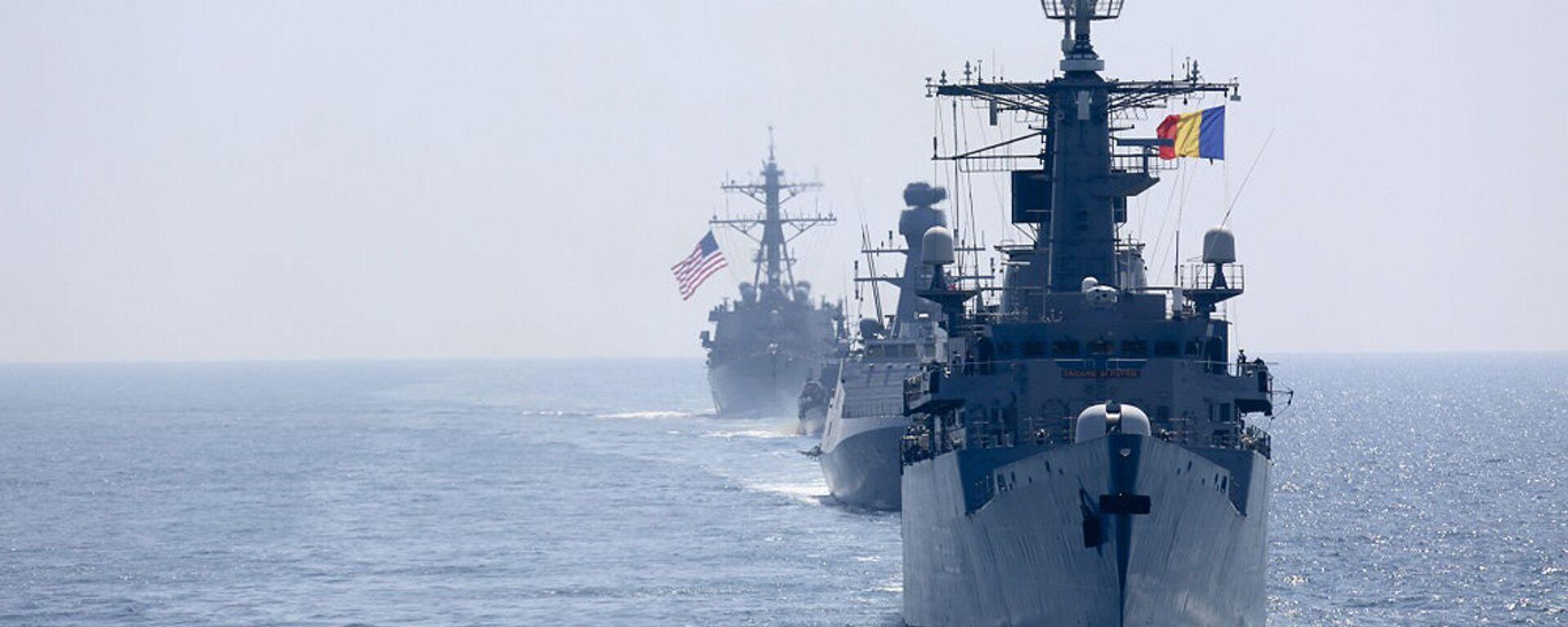 Các tàu của NATO ở Biển Đen - Sputnik Việt Nam, 1920, 03.07.2021