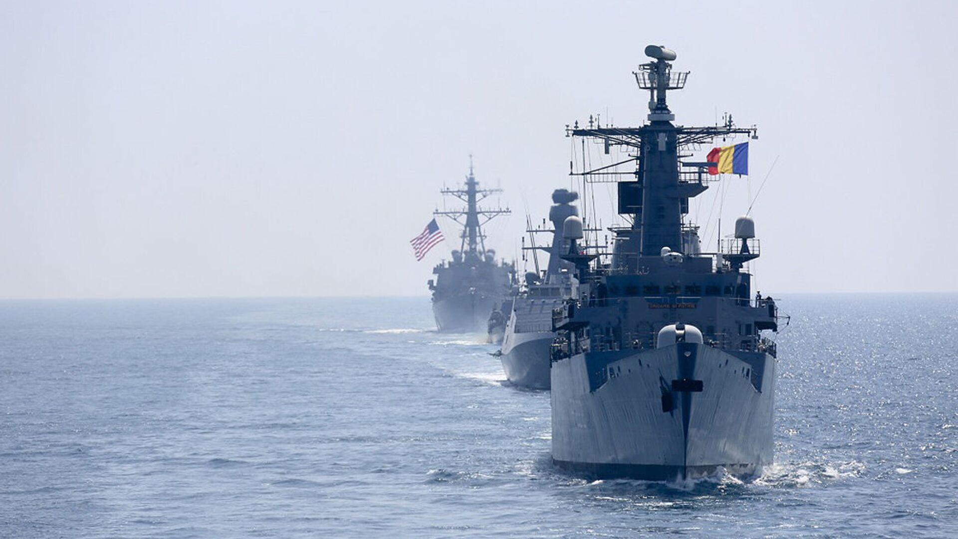 Các tàu của NATO ở Biển Đen - Sputnik Việt Nam, 1920, 16.04.2021
