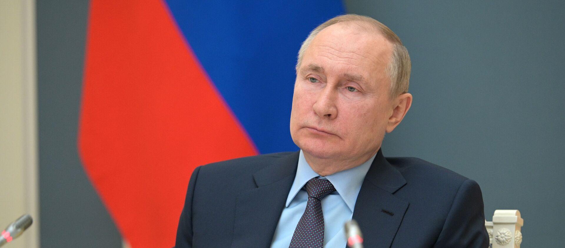 Tông thống Nga Vladimir Putin. - Sputnik Việt Nam, 1920, 17.04.2021