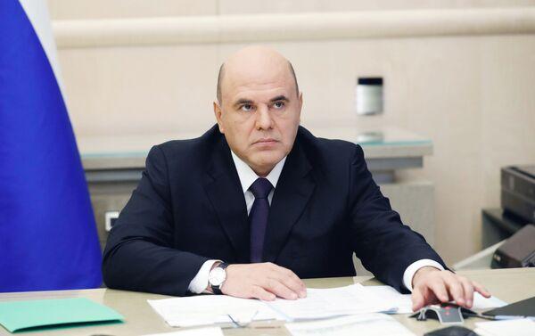 Thủ tướng Nga Mikhail Mishustin. - Sputnik Việt Nam