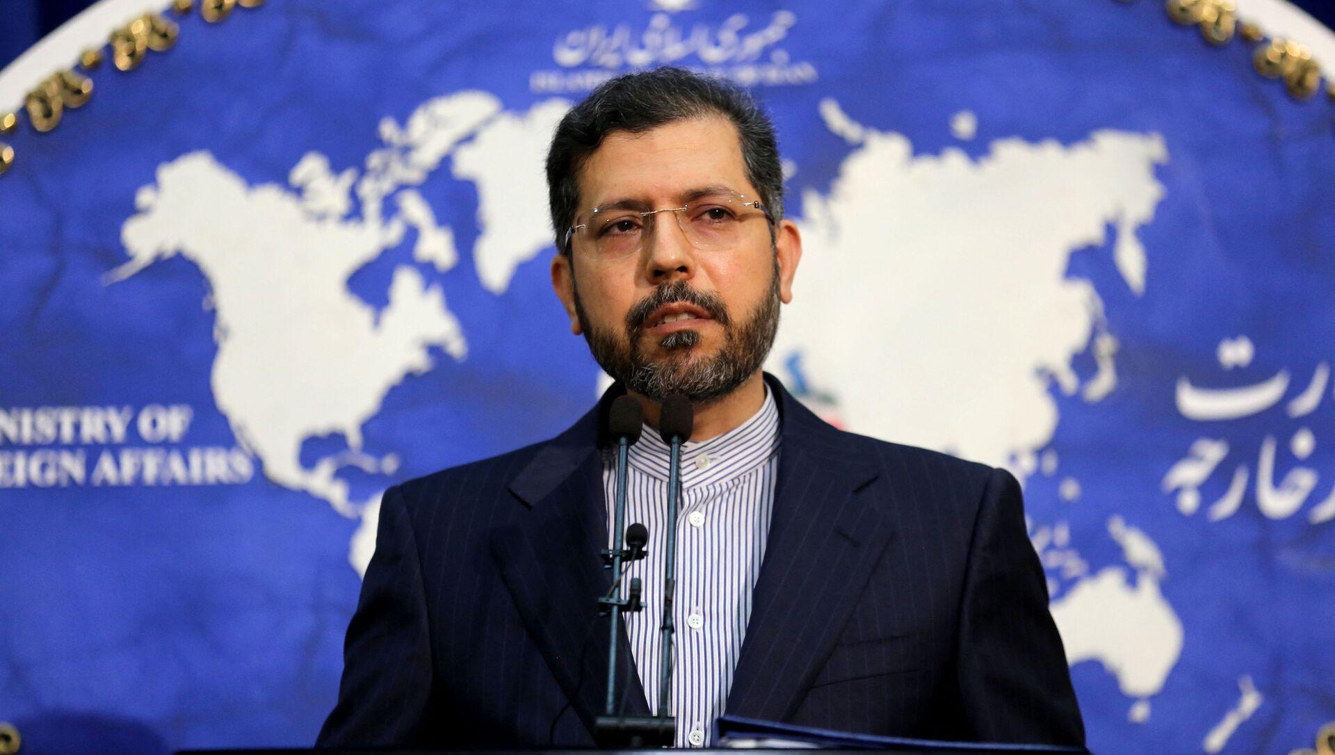Người phát ngôn Bộ Ngoại giao Iran Saeed Khatibzadeh. - Sputnik Việt Nam, 1920, 17.04.2021