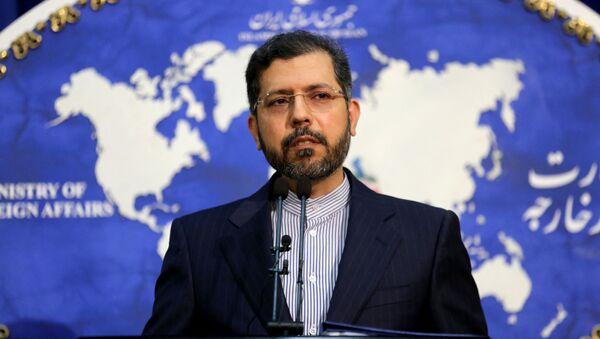 Người phát ngôn Bộ Ngoại giao Iran Saeed Khatibzadeh. - Sputnik Việt Nam