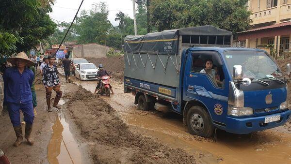 Xảy ra lũ ống bất ngờ trong đêm tại Văn Bàn, Lào Cai. - Sputnik Việt Nam