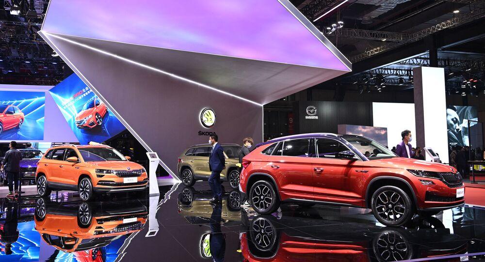 Xe Skoda tại Triển lãm ô tô quốc tế Thượng Hải lần thứ 19