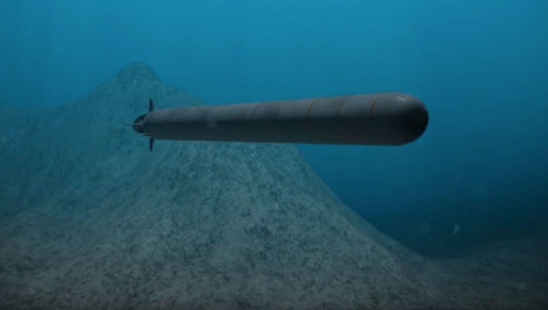 """Tàu ngầm hạt nhân không người lái """"Poseidon"""". - Sputnik Việt Nam, 1920, 20.04.2021"""