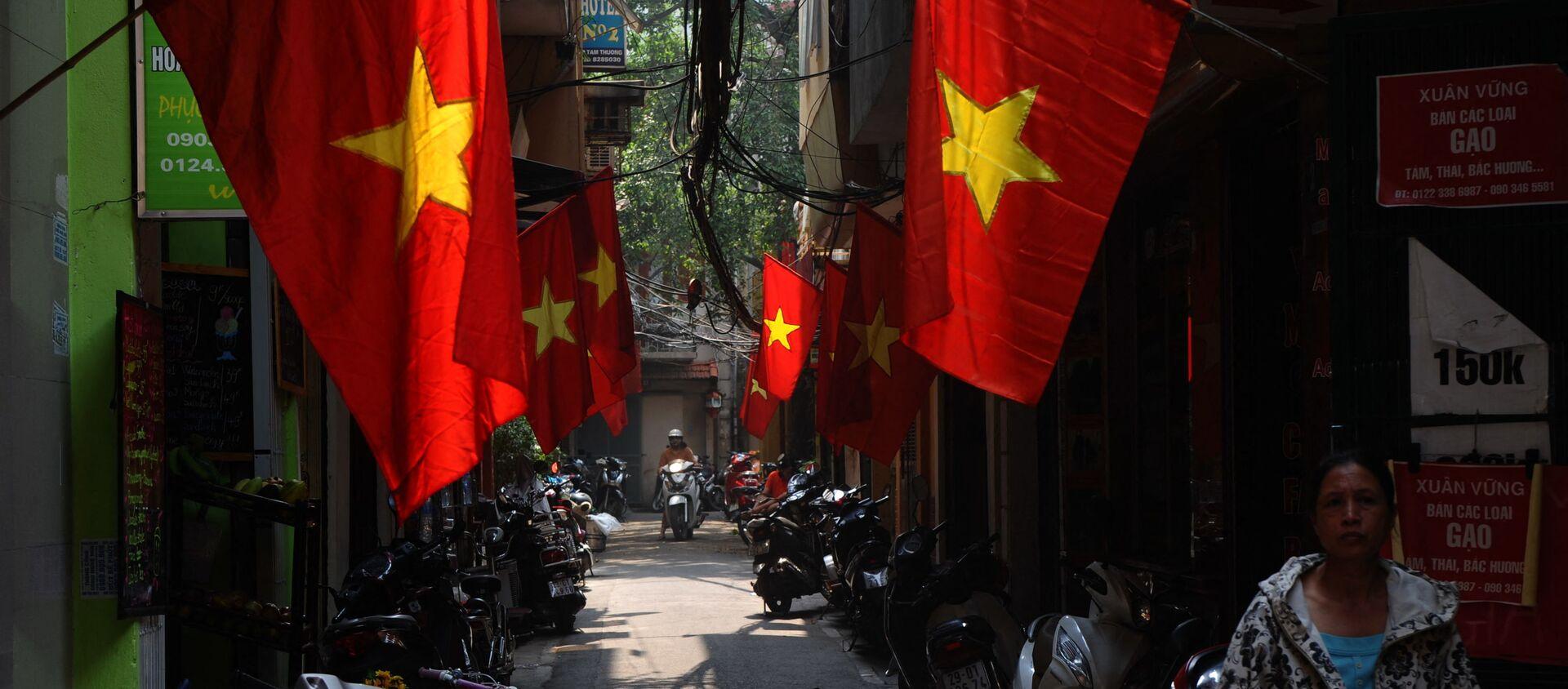 Đường phố Hà Nội. - Sputnik Việt Nam, 1920, 21.04.2021