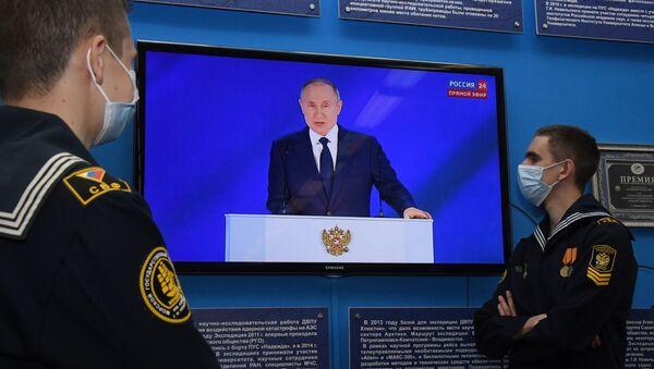 Thông điệp của Tổng thống Vladimir Putin gửi Quốc hội Liên bang - Sputnik Việt Nam