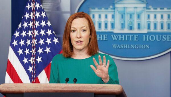 Thư ký Báo chí Tổng thống Hoa Kỳ Jen Psaki - Sputnik Việt Nam