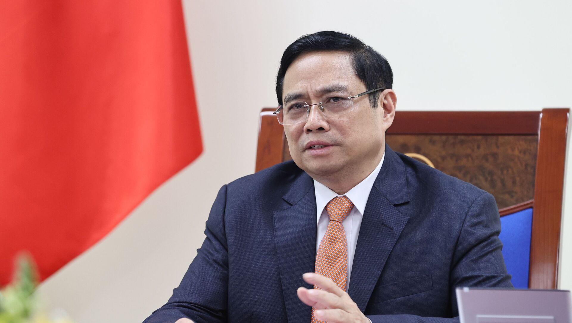 Thủ tướng Phạm Minh Chính. - Sputnik Việt Nam, 1920, 22.04.2021