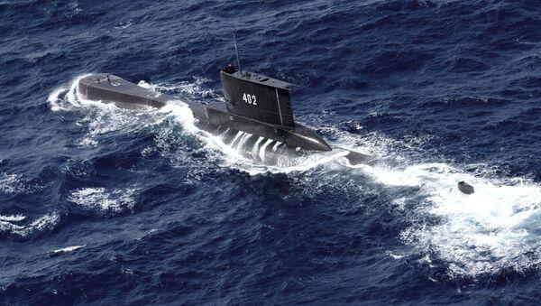 Tàu ngầm KRI Nanggala 402 của Indonesia. - Sputnik Việt Nam