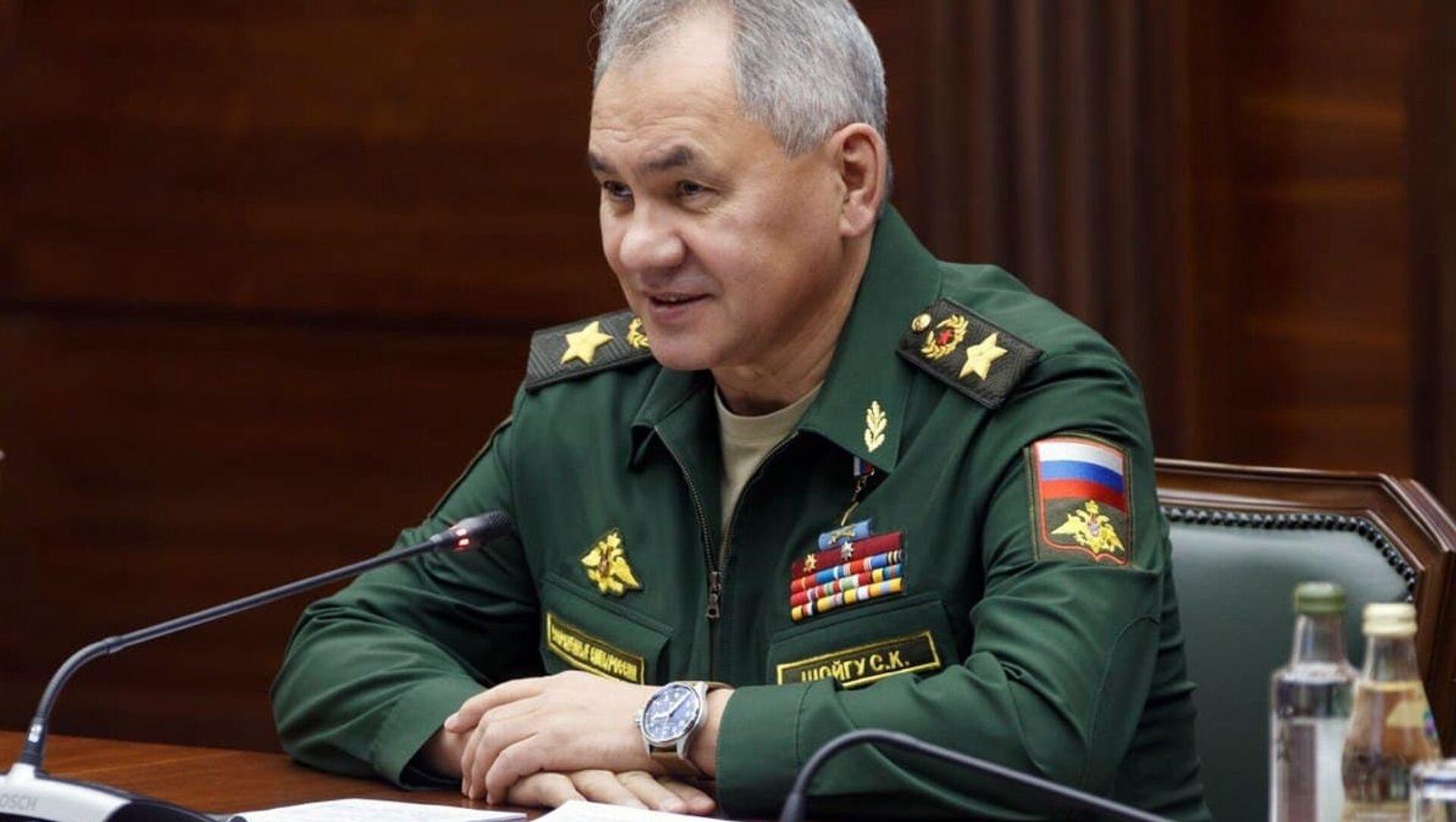 Bộ trưởng Quốc phòng Nga Sergei Shoigu. - Sputnik Việt Nam, 1920, 11.06.2021