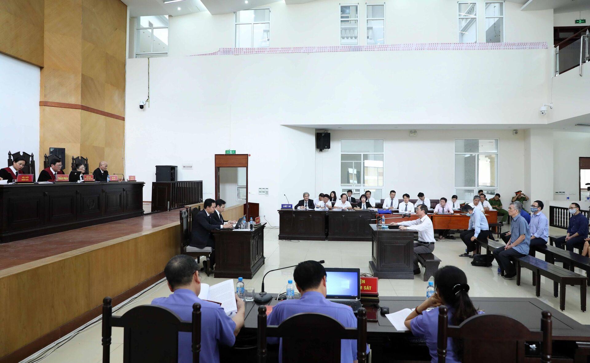 Tình tiết bất ngờ trong phiên xử cựu Bộ trưởng Bộ Công Thương Vũ Huy Hoàng - Sputnik Việt Nam, 1920, 23.04.2021