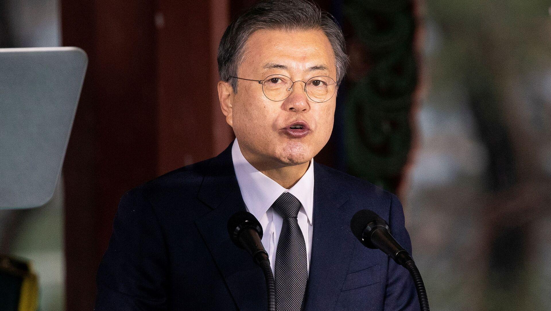 Tổng thống Hàn Quốc Moon Jae-in. - Sputnik Việt Nam, 1920, 19.07.2021