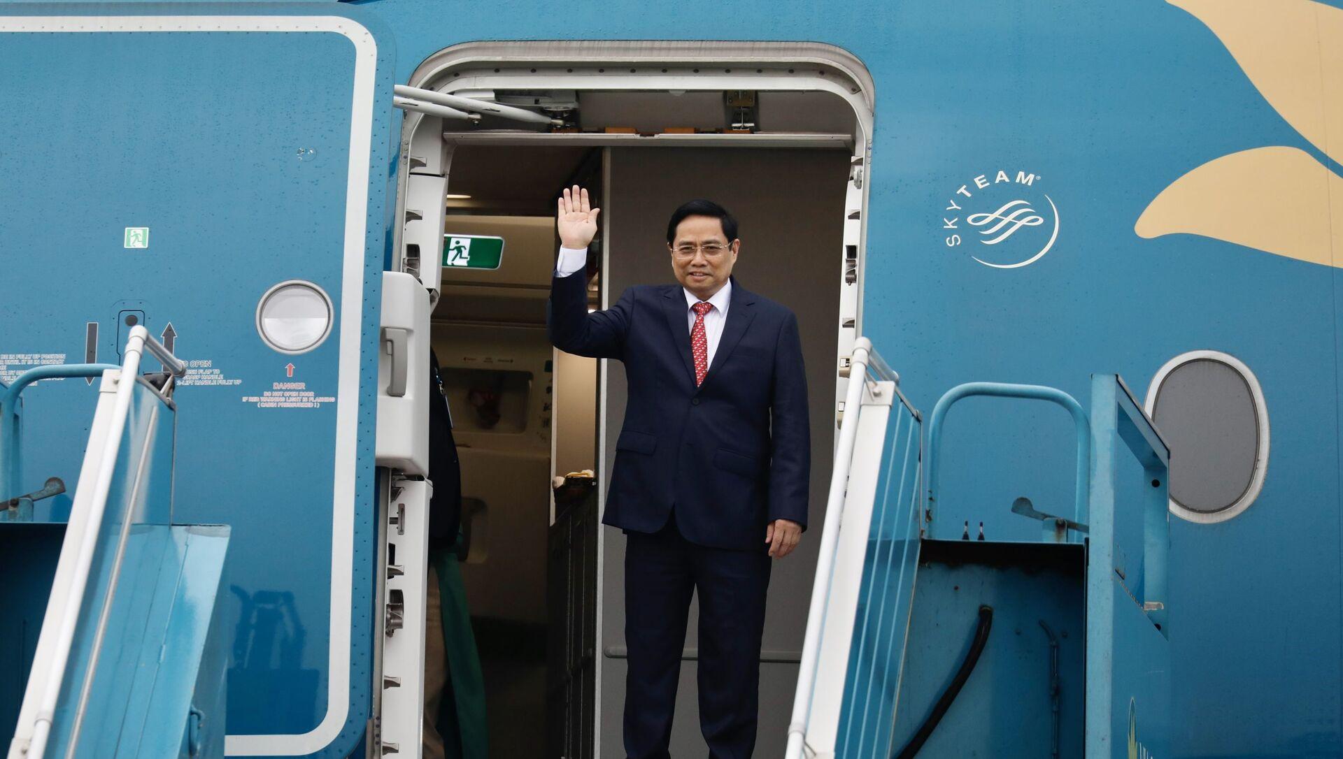 Thủ tướng Phạm Minh Chính lên đường tham dự Hội nghị các Nhà Lãnh đạo ASEAN tại Indonesia - Sputnik Việt Nam, 1920, 23.04.2021