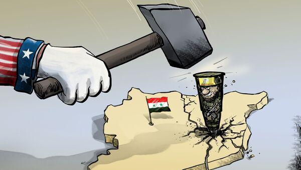 Búa Mỹ và đinh Kurd - Sputnik Việt Nam