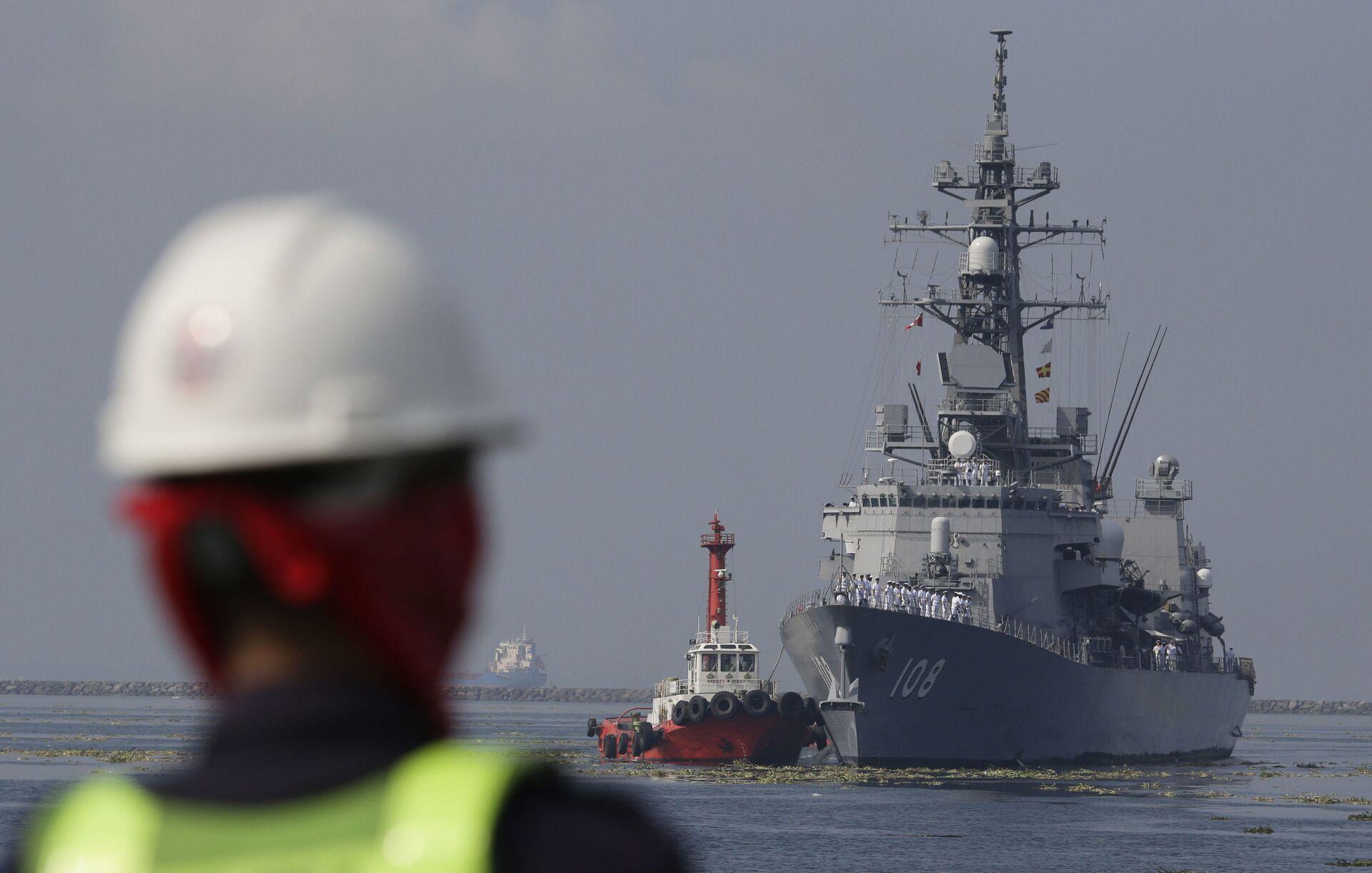 Nhật Bản tặng Việt Nam tàu nghiên cứu biển, Hà Nội-Tokyo tăng hợp tác Hải quân - Sputnik Việt Nam, 1920, 24.04.2021