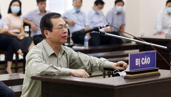 Xét xử Vũ Huy Hoàng và đồng phạm: Đề nghị mức án đối với cựu Bộ trưởng Công Thương Vũ Huy Hoàng và các bị cá - Sputnik Việt Nam