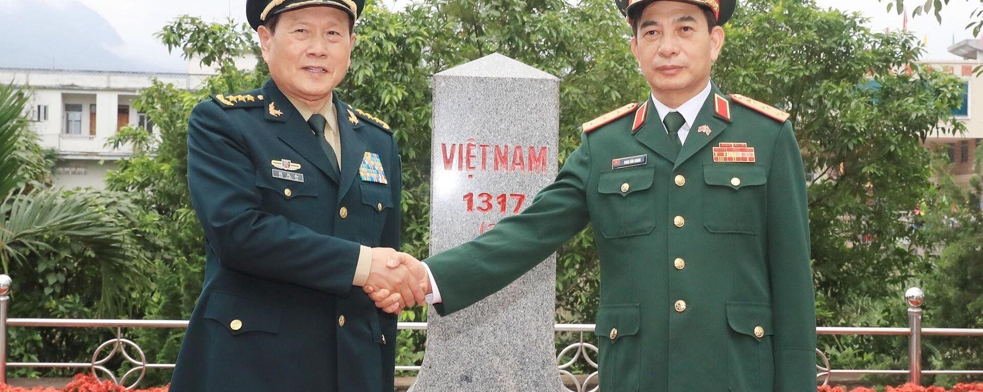 Giao lưu hữu nghị quốc phòng biên giới Việt Nam - Trung Quốc lần thứ 6 (chiều 24/4) - Sputnik Việt Nam, 1920, 24.04.2021