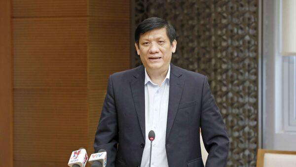Bộ Trưởng Bộ Y Tế Nguyễn Thành Long - Sputnik Việt Nam