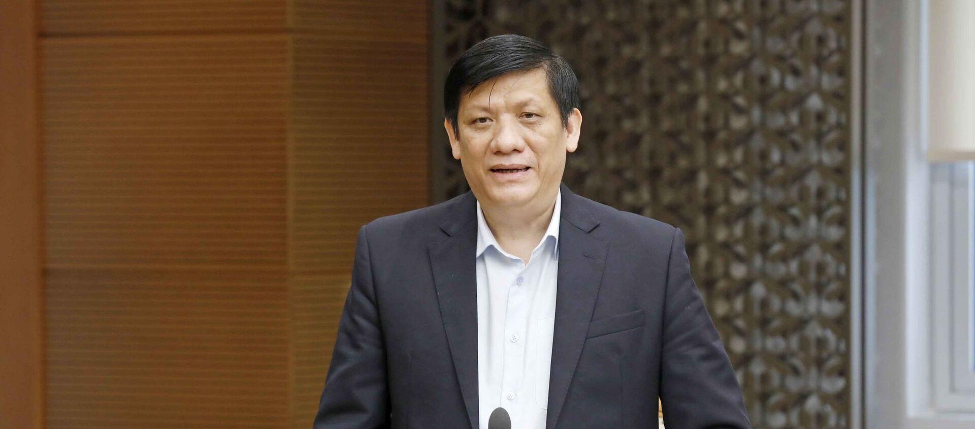 Bộ Trưởng Bộ Y Tế Nguyễn Thành Long - Sputnik Việt Nam, 1920, 25.04.2021