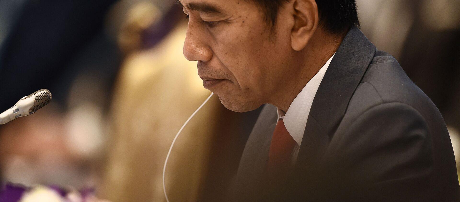 Tổng thống Indonesia Joko Widodo. - Sputnik Việt Nam, 1920, 28.04.2021