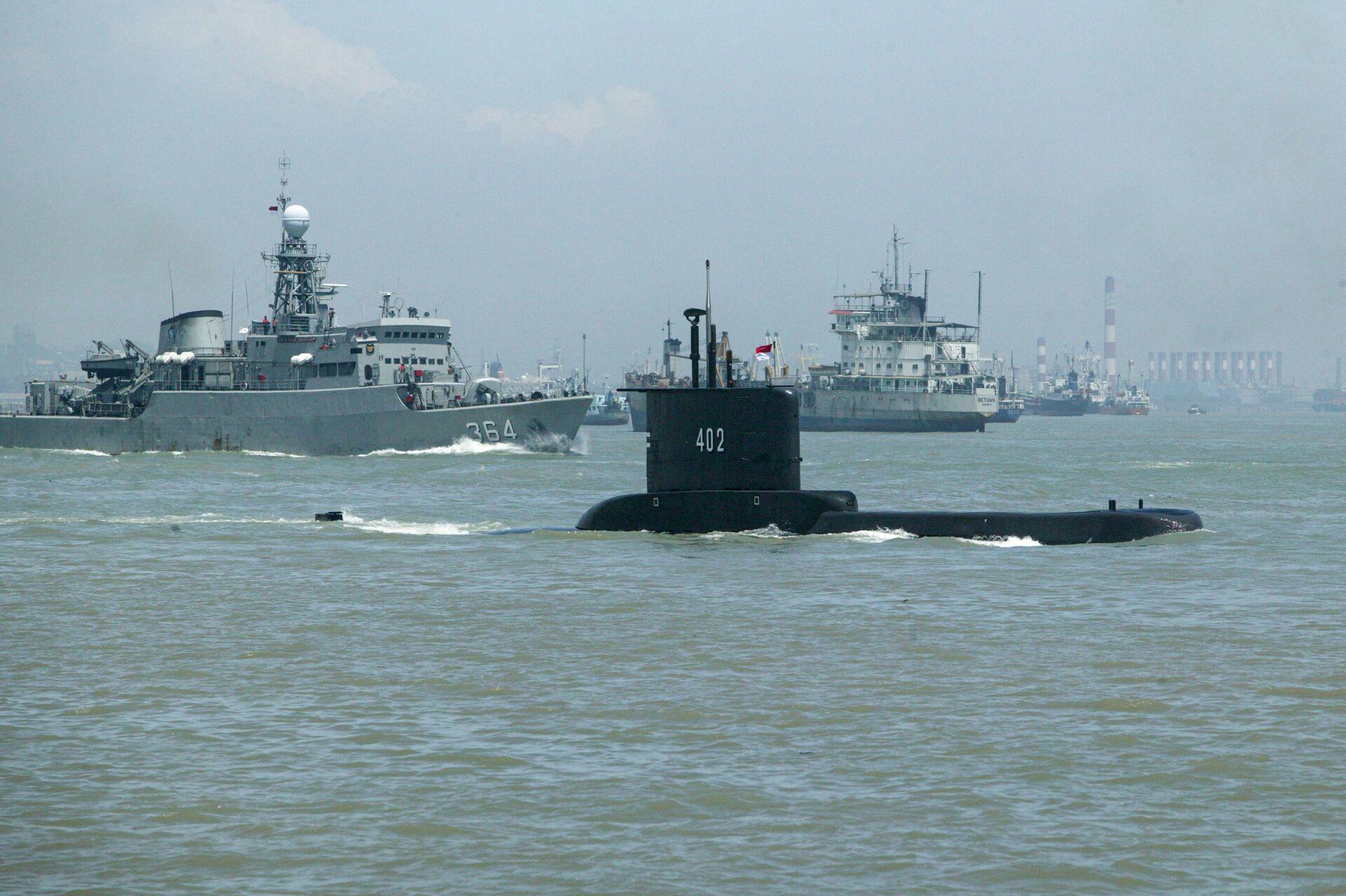 Indonesia sẽ tiến hành kiểm tra tình trạng tất cả các tàu ngầm của hải quân nước này sau vụ chìm tàu Nanggala - Sputnik Việt Nam, 1920, 27.04.2021