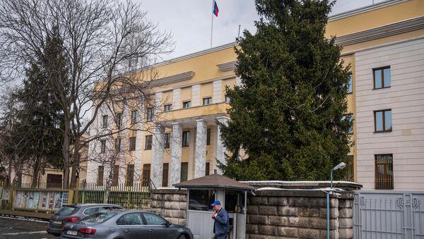 Đại sứ quán Nga tại Bucharest, Romania. - Sputnik Việt Nam