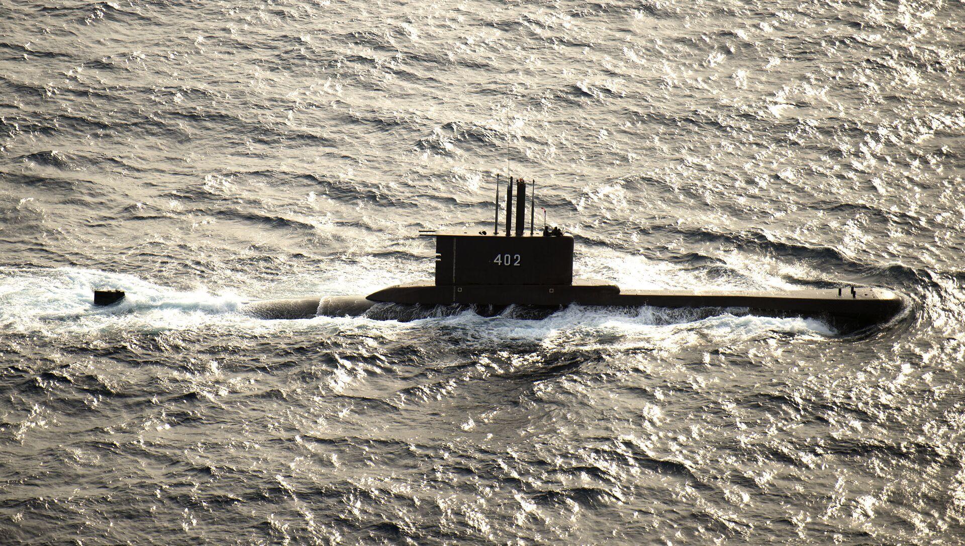 Tàu ngầm diesel KRI Nanggala (402) của Hải quân Indonesia - Sputnik Việt Nam, 1920, 27.04.2021