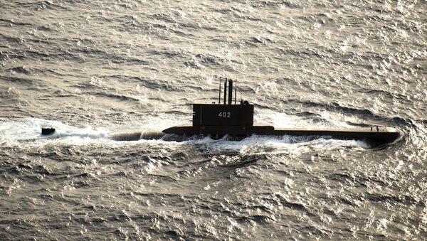 Tàu ngầm diesel KRI Nanggala (402) của Hải quân Indonesia - Sputnik Việt Nam