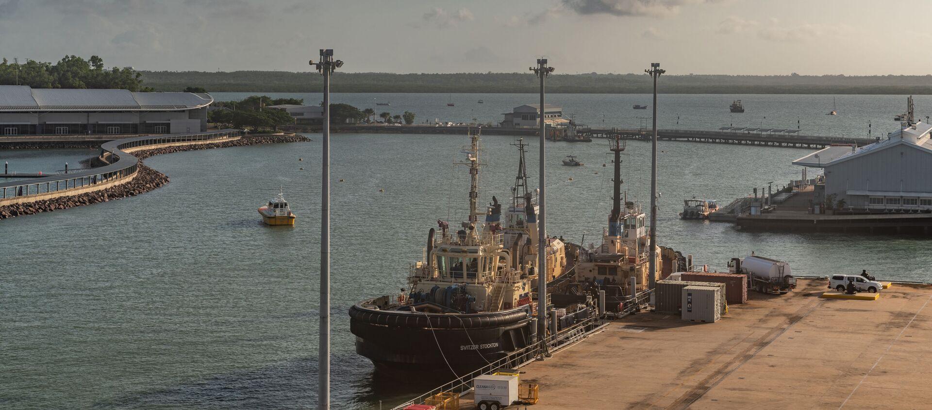 Cảng Darwin, Úc - Sputnik Việt Nam, 1920, 29.04.2021